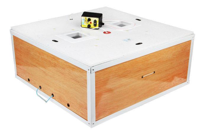 Інкубатор для яєць Курочка ряба - 130 з механічним переворотом в пластиковому корпусі