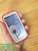 Samsung i9300, красный_силиконовый чехол Galaxy S3, фото 1