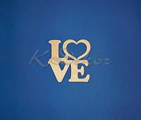 """Слово """"LOVE с сердцем"""" №2"""