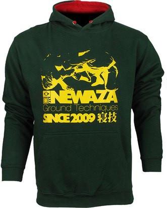 Толстовка SCRAMBLE Hoody Newaza Зеленая