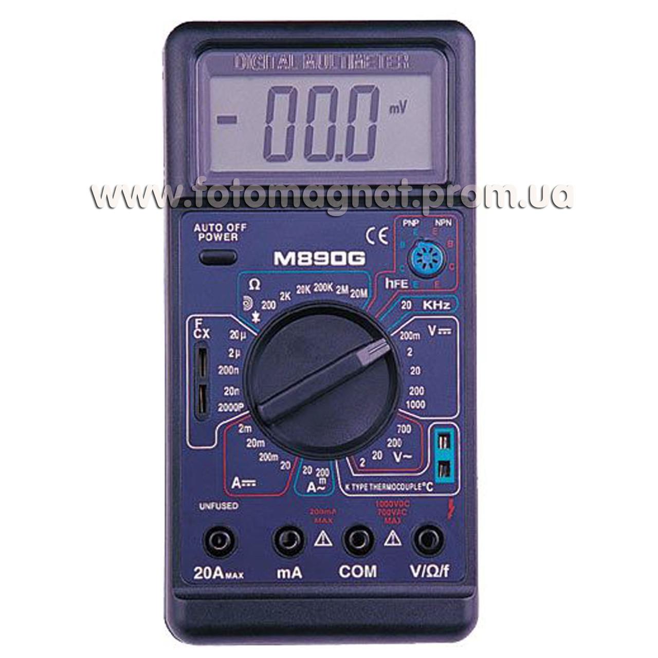 Тестер 890 G(тестер мультиметр)