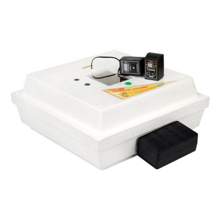 Автоматический инкубатор для яиц Курочка Ряба - 42 с ТЭНовым нагревателем