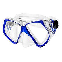 Маска для плавания Spokey Piker Белый с синим