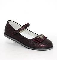 Туфлі з бантиком для дівчинки, фото 1