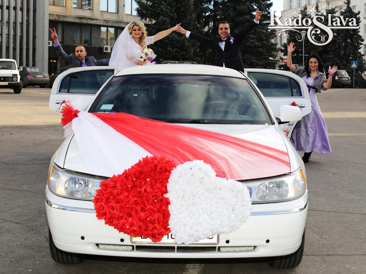 Украшение свадебных машин Сумы