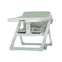 Стульчик - бустер для кормления CARRELLO Ergo CRL-8403 Ash Green / 4 /