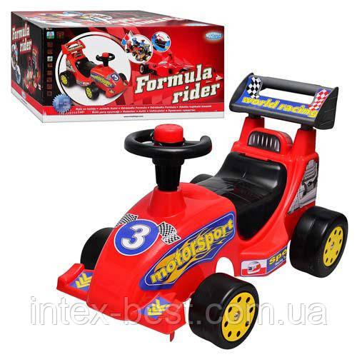 Детская машинка каталка-толокар 10157 красный MOCHTOYS