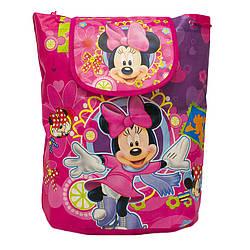 Детский рюкзак с рисунком (Mickey Mouse) 5 Цветов Малиновый