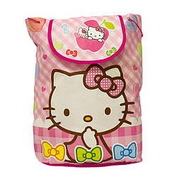 Детский рюкзак с рисунком (Hello Kitty) 5 Цветов Розовый