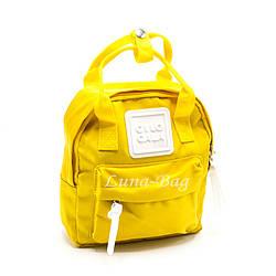 Рюкзак Женский 6 Цветов Желтый (22*19*8)