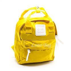 Рюкзак Женский 6 Цветов Желтый (27*24*10)