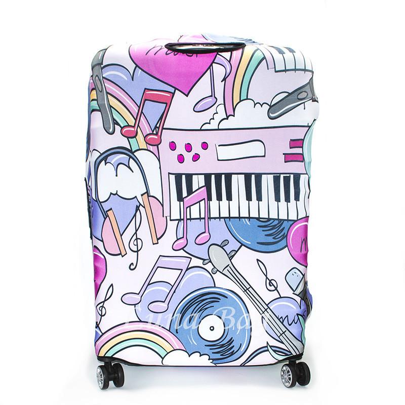 Чехол для Чемодана 20 Рисунков Пианино (70*48*33)