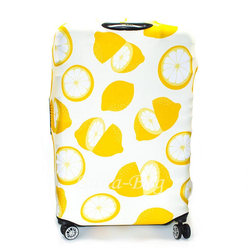 Чехол для Чемодана 20 Рисунков Лимоны (70*48*33)