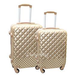 Набор из двух чемоданов 4 Цвета Золотой (20,24)