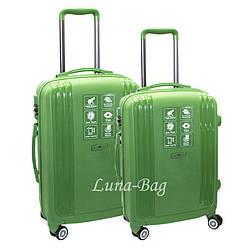 Набор из двух чемоданов 4 Цвета Зеленый (20,25)