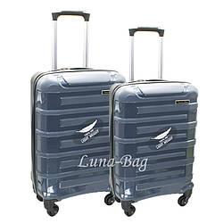 Набор из двух чемоданов 6 Цветов Серый (20,25)
