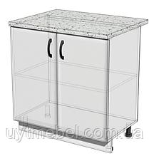 Кухня Модерн Плюс Мдф 600 Н дуб сонома/капучіно глянець (Абсолют)