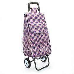 Тачка для Покупок 5 Цветов Фиолетовый (80*30*20)