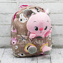 Рюкзак с Игрушкой (26*20*6)