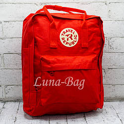 Городской рюкзак Travel Republic 3 Цвета Красный. (34*30*11)