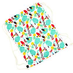 """Пляжный рюкзак """"Fruits"""". (Минимальный заказ 6 шт (Разных)"""