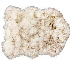 Килимок штучного хутра KONTRAST VOLPI BROWN у формі шкурки 60*85 див.