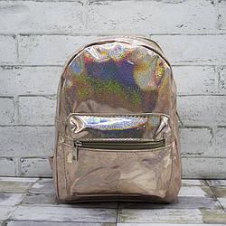 Рюкзак детский Цвет Золотой (30*22*20)