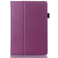 Кожаный чехол для Lenovo A7600 фиолетовый