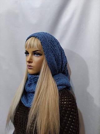 Снуд Келли  FLIRT 1114  джинс, фото 2