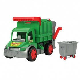 Игрушечная машинка Мусоровоз Wader Гигант 67015 (1) Зеленый
