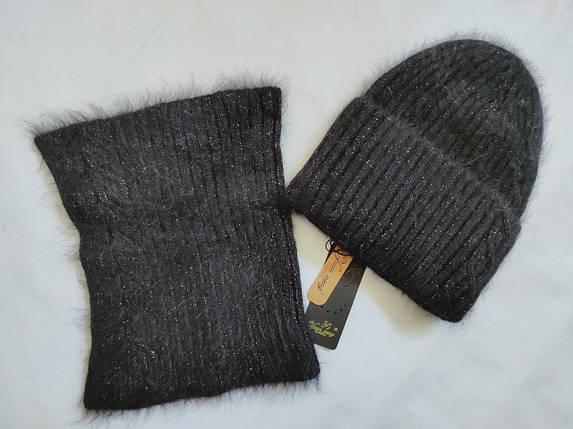 Комплект с баффом FAN CAP 2090 Мими черный, фото 2