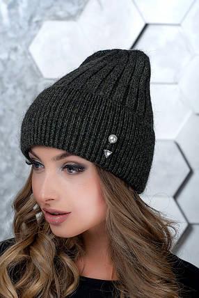 Женская шапка Flirt Сонг One Size зеленая1017, фото 2