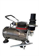 Профессиональный набор для кондитера: компрессор и аэрограф TC-803/UA-130N