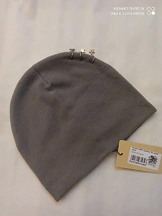 Шапка из ангоры Джайла ODYSSEY 45035 серый, фото 2