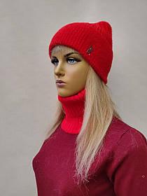 Комплект Flirt с баффом 2045 Камила  красный