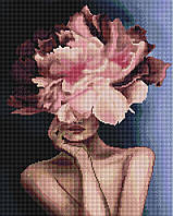 Алмазна мозаїка 40*50 Витончена квіточка BrushMe