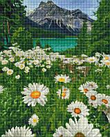 Алмазна мозаїка 40*50 Підніжжя гір BrushMe