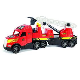 Игрушечная Пожарная машина Wader Magic truck 36220 (12) Красный