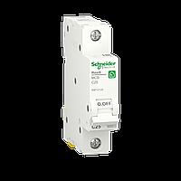 Автоматичний вимикач Schneider Electric 25А, 1P, С, 6кА (R9F12125), фото 1