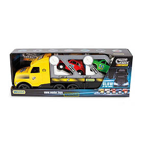Игрушечная машинка Автовоз Wader Magic truck 36230 (12) Желтый