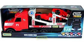 Игрушечная машинка Автовоз Wader Magic truck 36240 (12) Красный