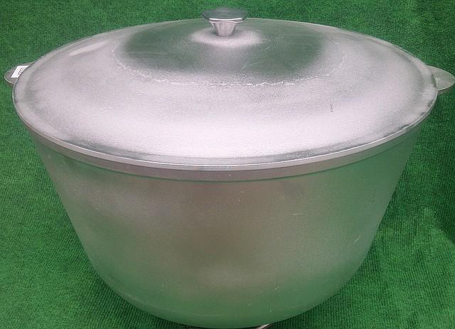 Казан 40 литров алюминий литой
