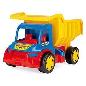 Игрушечная машинка Самосвал Wader Гигант 65000 (1) | Машинка грузовик