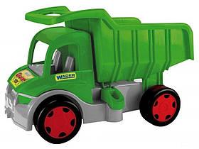 Игрушечная машинка Самосвал Wader Гигант 65015 (1) Зеленый | Машинка грузовик