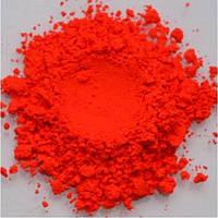 Сухой пигмент флуорисцентный красно-оранжевый-5 грамм