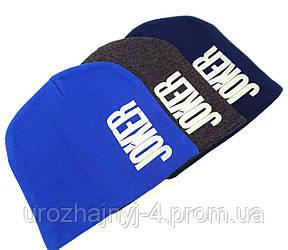 Шапка трикотажна підкладка хб р50-52 поштучно код 3132 Glory-kids