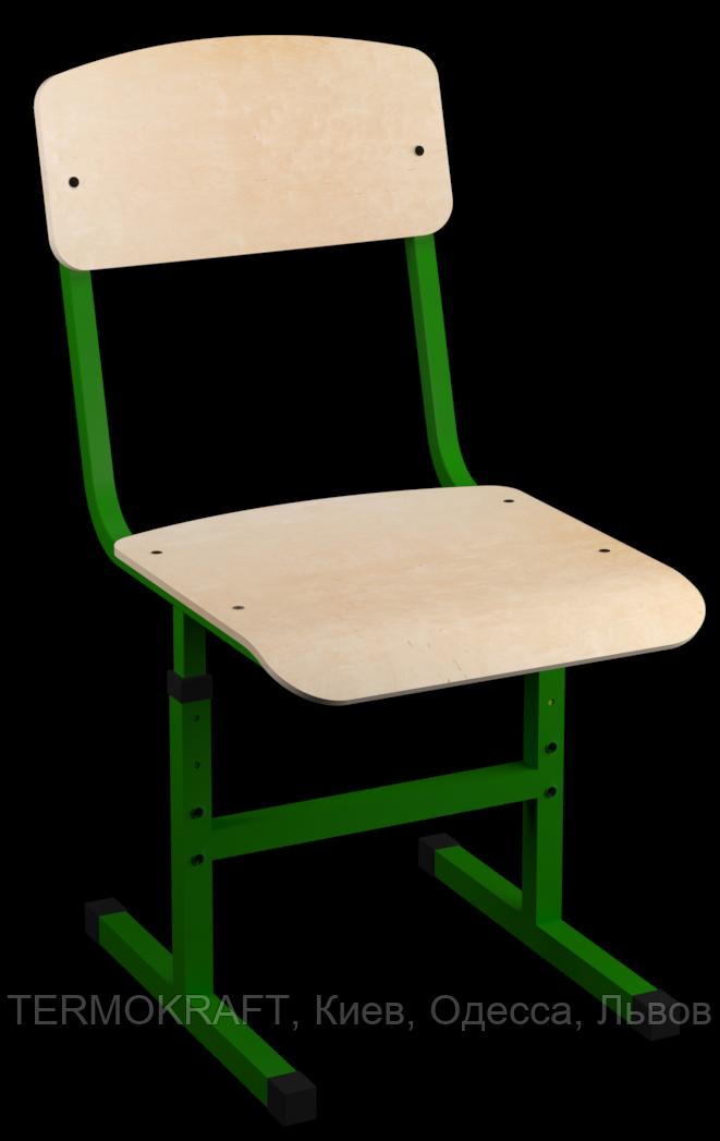 Стілець учнівський модель 002, гнутоклеєна фанера,  зрiст 4-6 регулюється