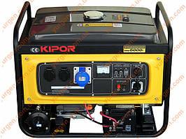 Газовий Генератор/бензиновий KIPOR KNGE6000E