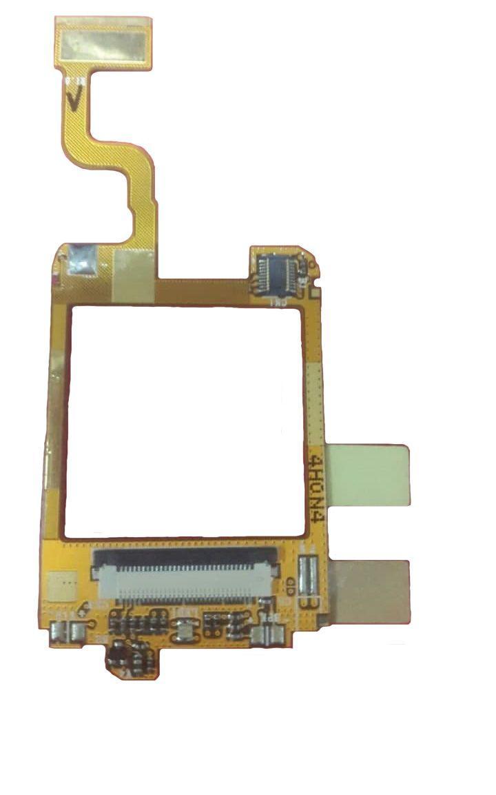 Шлейф Samsung E600 с компонентами