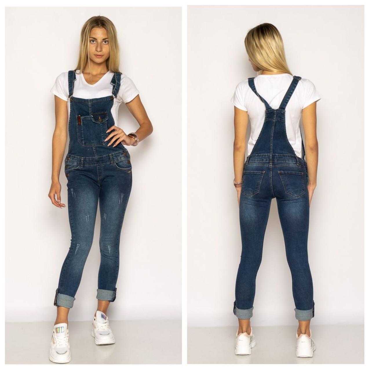 Комбинезон женский  джинсовый 134P3327